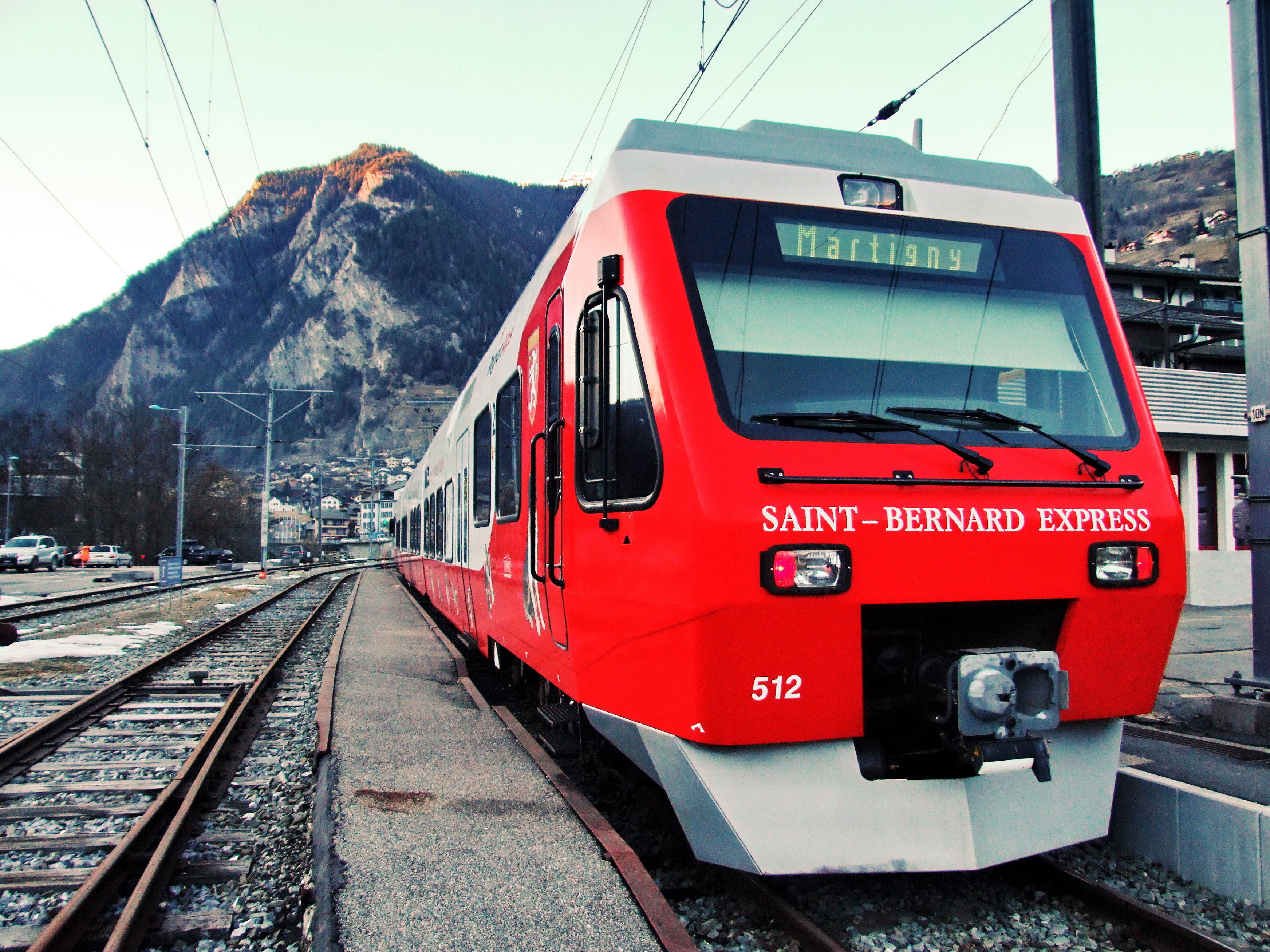 Geneva to Verbier by Train