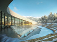 New Swimming Complex for Courchevel