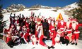 Christmas Hits with Santa Ski Race